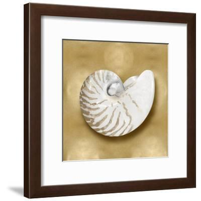 Ocean Gem on Gold III-Caroline Kelly-Framed Giclee Print