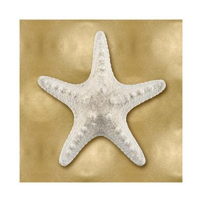 Ocean Gem on Gold VI-Caroline Kelly-Giclee Print