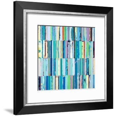 Ocean Glass-Adam Collier Noel-Framed Art Print