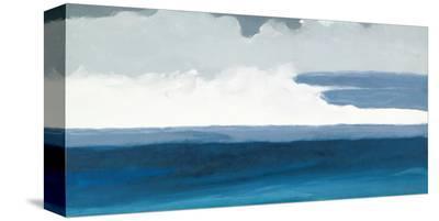 Ocean Horizon-Rob Delamater-Stretched Canvas Print
