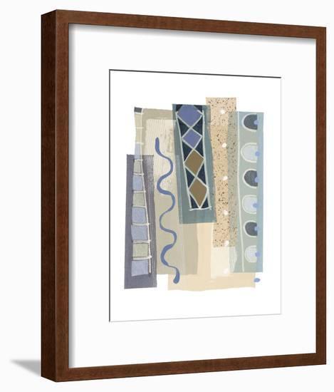Ocean II-P^G^ Gravele-Framed Art Print