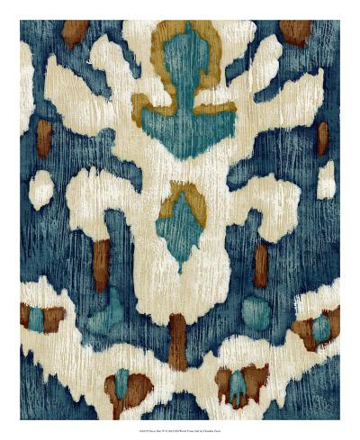 Ocean Ikat IV-Chariklia Zarris-Premium Giclee Print