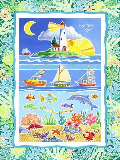 Ocean Life-Geraldine Aikman-Giclee Print