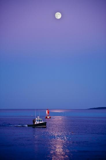 Ocean Moonrise-Steve Gadomski-Photographic Print
