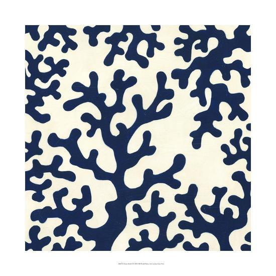 Ocean Motifs I-Erica J^ Vess-Art Print
