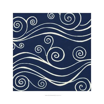 Ocean Motifs II-Erica J^ Vess-Art Print
