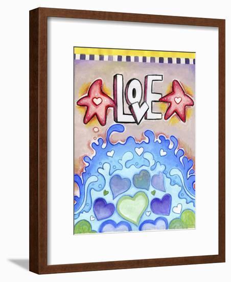 Ocean of Hearts-Valarie Wade-Framed Giclee Print
