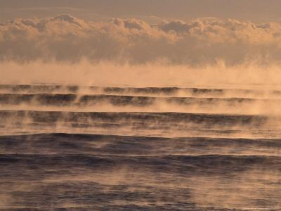 Ocean on Winter Morning, Florida, USA-Nik Wheeler-Photographic Print