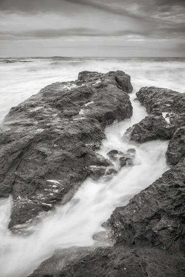 Ocean Painted Seascape No. 2, Mendocino Coast-Vincent James-Photographic Print