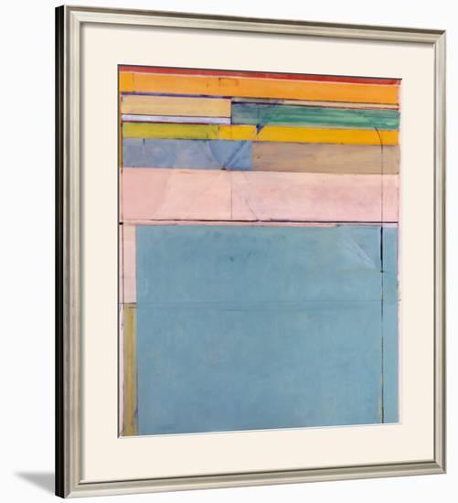 Ocean Park 116, 1979-Richard Diebenkorn-Framed Art Print