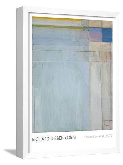 Ocean Park #54, 1972-Richard Diebenkorn-Framed Canvas Print