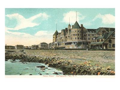 Ocean Road, Narrangasett Pier, Rhode Island--Art Print