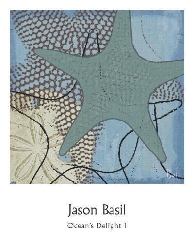 Ocean's Delight I-Jason Basil-Art Print