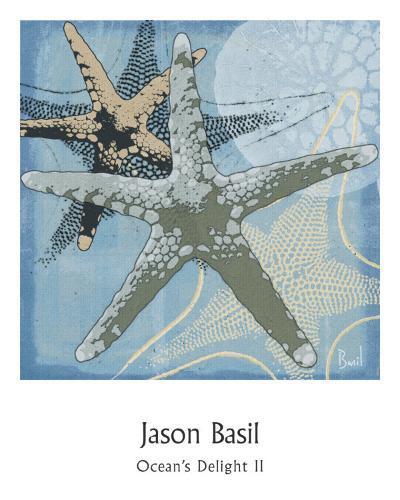 Ocean's Delight II-Jason Basil-Art Print