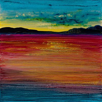 Ocean's Night IV-Bridges-Giclee Print