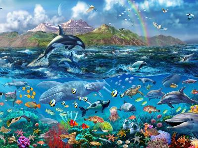 Ocean Scene-Adrian Chesterman-Art Print