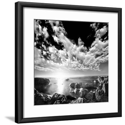Ocean Seatide II--Framed Art Print