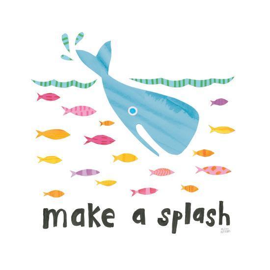 Ocean Splash I-Melissa Averinos-Art Print