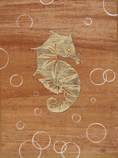 Ocean Style Seahorse-Hart Hart-Giclee Print