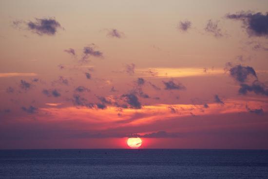 Ocean Sunrise in Indonesia- dmitry_islentev-Photographic Print