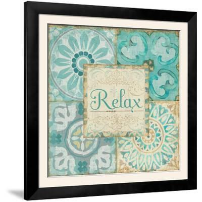 Ocean Tales Tile VI-Pela Design-Framed Photographic Print