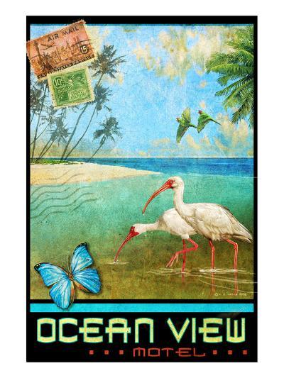 Ocean View I-Chris Vest-Art Print