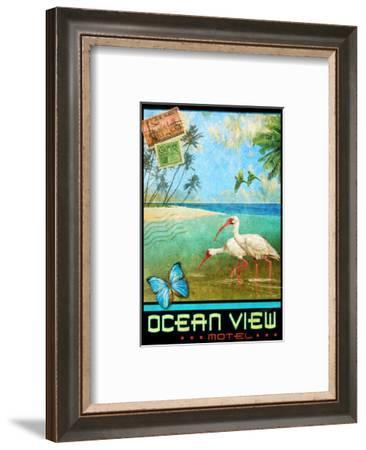 Ocean View I-Chris Vest-Framed Art Print
