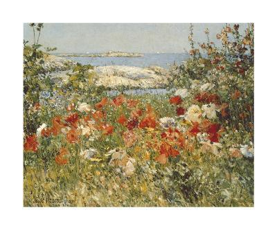 Ocean View-Childe Hassam-Art Print