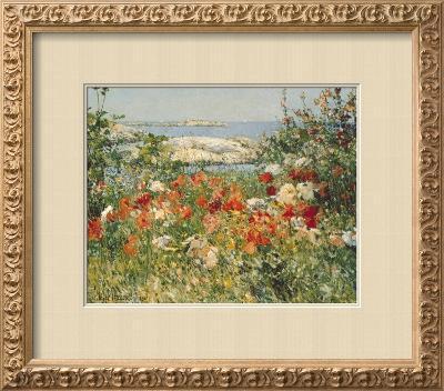 Ocean View-Childe Hassam-Framed Giclee Print