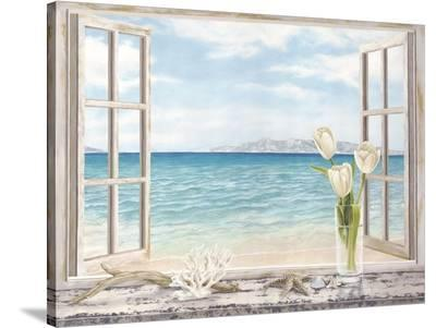 Ocean View-Remy Dellal-Stretched Canvas Print