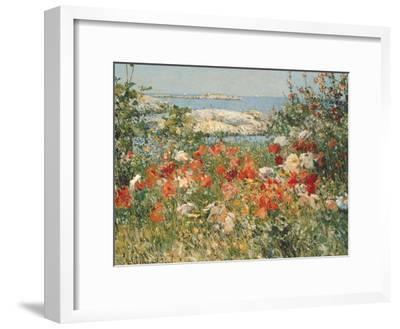 Ocean View-Childe Hassam-Framed Premium Giclee Print