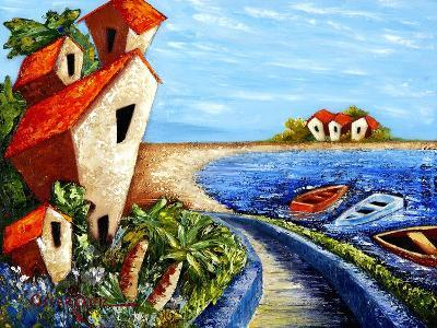 Ocean Village-Oscar Ortiz-Giclee Print