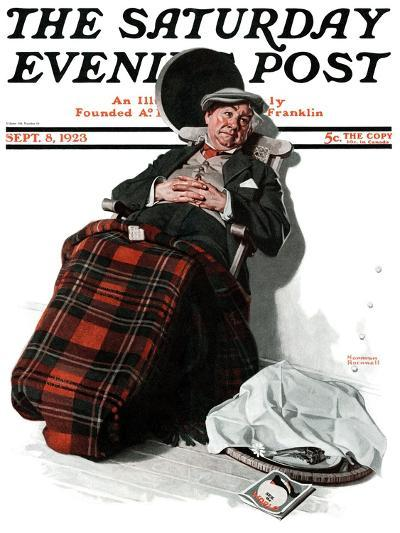 """Ocean Voyage"" Saturday Evening Post Cover, September 8,1923-Norman Rockwell-Giclee Print"
