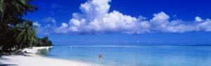Ocean, Water, Clouds, Relaxing, Matira Beach, Tahiti, French Polynesia, South Pacific, Island