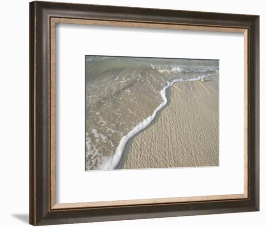 Ocean Water on the Beach, Cabo San Lucas, Mexico-Gina Martin-Framed Photographic Print