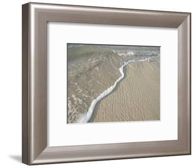 Ocean Water on the Beach, Cabo San Lucas, Mexico-Gina Martin-Framed Photographic Print