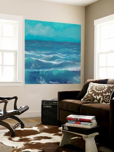 Ocean Waves I-Rick Novak-Wall Mural