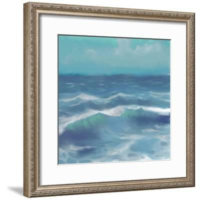 Ocean Waves II-Rick Novak-Framed Art Print