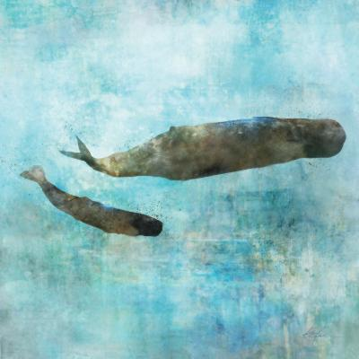 Ocean Whale 2-Ken Roko-Premium Giclee Print