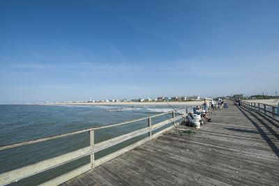 Oceanana Fishing Pier, Atlantic Beach, Outer Banks-Michael DeFreitas-Photographic Print