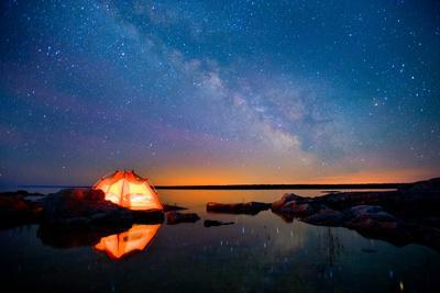 Long Exposure of Stars