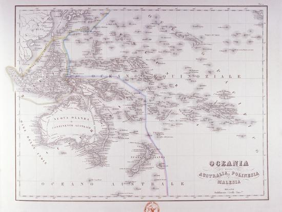 Oceania (Australia, Polynesia, and Malaysia)-Fototeca Gilardi-Photographic Print