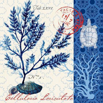 Oceanic Botanical-Devon Ross-Art Print