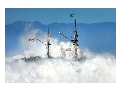 Oceans Fury-Steve Munch-Art Print