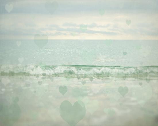 Oceans Of Love 1-Elizabeth Urquhart-Art Print