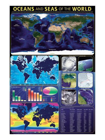 Oceans & Seas--Art Print