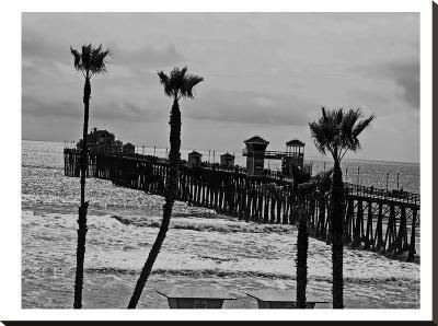 Oceanside Pier #8-Murray Bolesta-Stretched Canvas Print