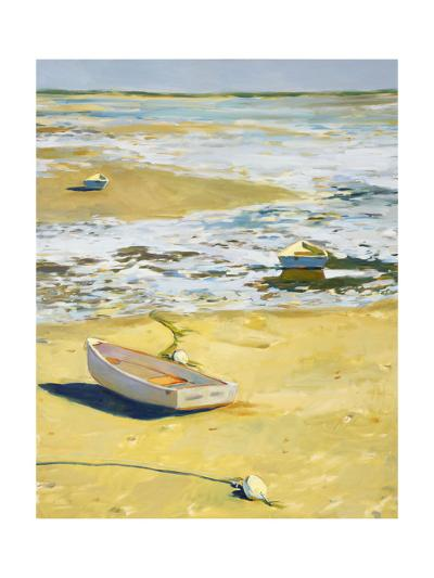 Oceanside with Boats--Art Print