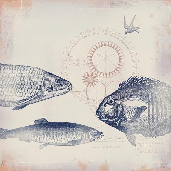 Oceanus Pisces-Ken Hurd-Giclee Print