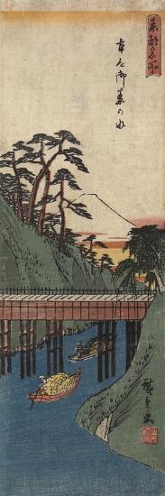 Ochanomizu, C. 1830-1858-Utagawa Hiroshige-Giclee Print